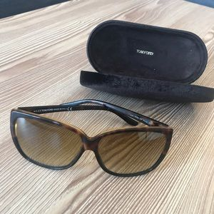 Tom Ford Lydia TF228 Sunglasses - Brown